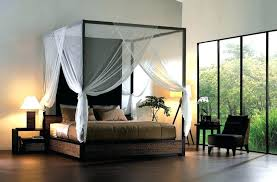King Canopy Frame Remarkable Black King Canopy Bed With 4 Post Bed ...