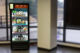 Charge On The Go Vending Machines Gorgeous The Future Of Lunch Healthy Vending Machines The Food Rush