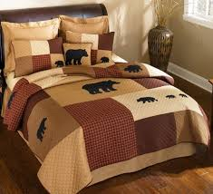 Rustic Logan Bear Quilt Twin - Reclaimed Furniture Design Ideas & Logan Bear Quilt - Twin Adamdwight.com