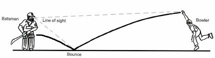 Image result for circket ball trajectory