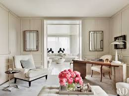 feminine home office. feminine home office with neutral tones and glam style