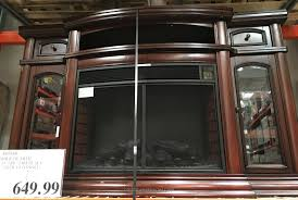 exellent console costco gas fireplace latest wall mount with to tv console a