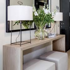 Console Table Lights