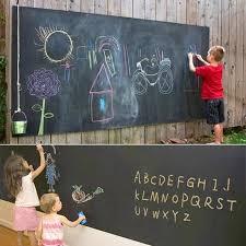 kid wall sticker blackboard decal xl size 120200cm vinyl chalkboard