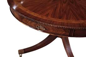 48 round mahogany dining table