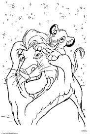 Lion King Color Pages And Coloring Pages Lion King Coloring Page Y