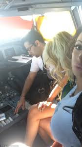 Pilot's high-flying trip with porn star