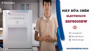 Đánh giá máy rửa chén 8 bộ Electrolux ESF6010BW . Đáng sỡ hữu cho gia đình  dưới 5 người - YouTube