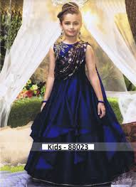 Gown Design Latest 2019 Buy 2019 Latest Kids Wear Gown Wholesale Price Diwan Fashion