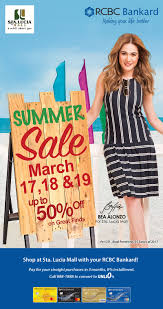 summer at sta lucia mall