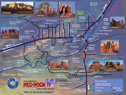 sedona arizona attractions sedona tourist map see map details Travel Map Of Arizona sedona arizona attractions sedona tourist map see map details from sedona tv travel map of arizona and utah