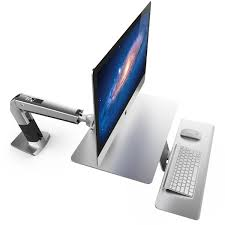 Apple Thunderbolt Display Weight Without Stand Ergotron 100100100 WorkFitA Standing Desk Arm for Apple iMac 54