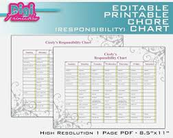 12 Teen Chore Chart Business Letter