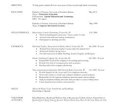Teacher Profile Resume Unique Cover Letter Teachers Cv Sample