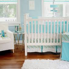 aqua baby bedding follow your arrow in aqua crib collection
