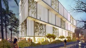 office building facade. Naturally Cooled Otunba Offices Has A Small Footprint But Large Social Impact Office Building Facade