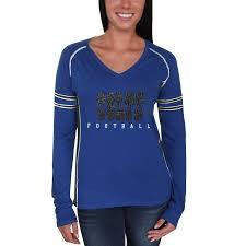 <b>Women's</b> Indianapolis Colts Majestic Royal <b>Deep</b> Fade Route <b>Long</b> ...