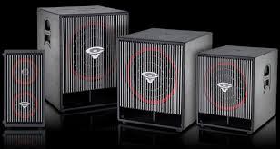 cerwin vega active series speakers subwoofers cerwin vega activeseries subwoofers