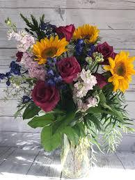mixed flowers in studio city in valley