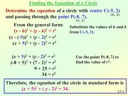 circle equation general form tessshlo