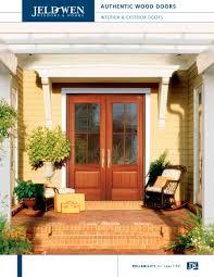 jeld wen front doorsAuthentic Wood Exterior Doors  JELDWEN  PDF Catalogues