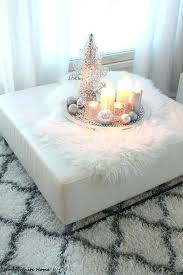ottoman decorating silver tray square ideas large size of coffee table round decoration