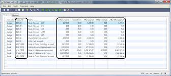 Journals Balance Control Accounts Microsoft Dynamics Ax
