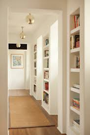 recessed lighting in hallway. hallway illuminated with golden semi flush mount ceiling lighting recessed in