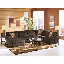 living room furniture pictures. ashley vistachocolate 3piece sectional room view living furniture pictures