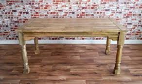 reclaimed farmhouse rustic hardwood extending rustic dining table to seat 6 12 people