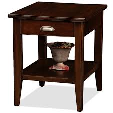 furniture com leick lau end table with drawer kitchen dining cool chairside drawers black cappuccino
