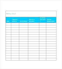 Template Website Bootstrap Free Wedding Guest List Word Excel Format