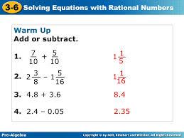 2 pre algebra
