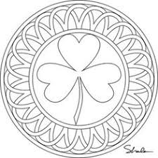 Small Picture Printable Fun Shamrocks Adult coloring Craft and March crafts