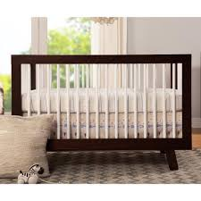 babyletto furniture. babyletto hudson 3in1 convertible crib with toddler rail espresso and white babies furniture b