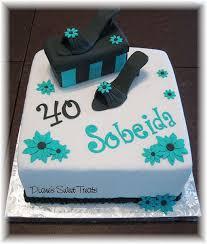 40th Birthday Party Ideas Mens Cake Easy Fun Ways Celebrate Shoe