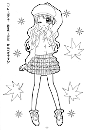 Coloring Pages Anime Colouring Pages For Kids To Print Harmony In