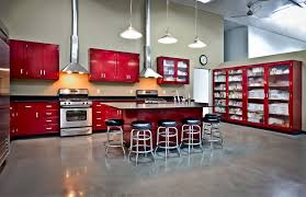 Red Gloss Kitchen Cabinets Exquisite Used Kitchen Cabinets Stainless Steel Exquisite Tan