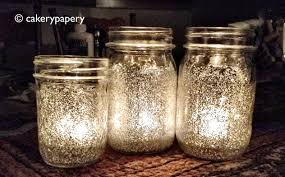 Decorate Jar Candles Festive Holiday DIY Glitter Mason Jar Candles cakerypapery 18
