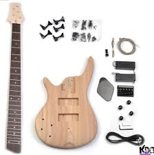 diy 5 string bass left hand sr style build your own bass guitar kit