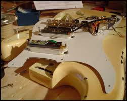 fender stratocaster strat body neck guitar wiring book on cd ebay Strat Neck Humbucker Wiring section 2 wiring a strat the strat is perfect for playing the blues, jazz, or rock these guitars are described as having a quacky, or even smokey sound Fender Strat Humbucker Pickups