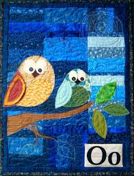 owl wall hanging patchwork posse