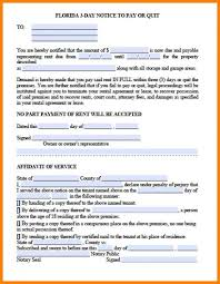 notice to owner form florida 30 day notice letter to landlord template business