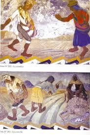 a 10: Algunos de los murales de Mario Alejandro Illanes en el patio del...  | Download Scientific Diagram