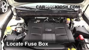 replace a fuse 2010 2014 subaru outback 2011 subaru outback 3 6r 2007 Nissan Murano Fuse Box Diagram replace a fuse 2010 2014 subaru outback