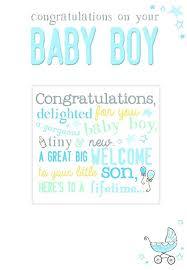 Amazon Com Gemma Congratulations New Baby Boy Card