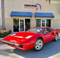 The may live online auction. Driving Emotions New Inventory Alert 1985 Ferrari 308 Gtsi
