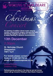 christmas concert woking sam beare hospices christmas concert 2