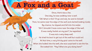 the fox and the goat bedtime stories