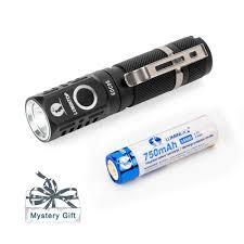 EDC05 Torchlight Đèn Pin Mạnh Mẽ LED Đèn Pin Đèn Pin Mini Móc Khóa Đèn Pin  Cao Cấp Lumens 800 Điện Năng AA/14500|Đèn Flash & Đèn Pin